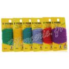 6 cartes de laine pour tricotin